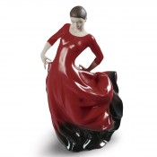 World Cultures - Buleria Figurine, 33cm - Red