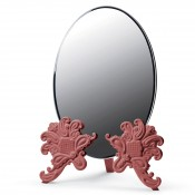 Vanity Mirror, 41cm - Red