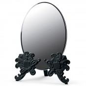Vanity Mirror, 41cm - Black