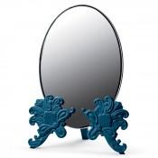 Vanity Mirror, 41cm - Blue