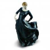 World Cultures - Buleria Figurine, 33cm - Black