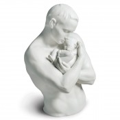 Family Stories - Paternal Protection Sculpture, 31cm