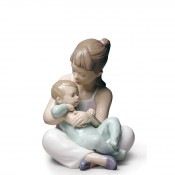 Children - Siblings Figurine, 21cm