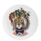 Accent/Dessert Plate, 23cm - Jungle King