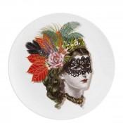 Accent/Dessert Plate, 23cm - Mamzelle Scarlet