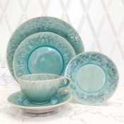 5 Piece Place Setting - Blue