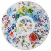 Couple Plate/Platter, 36cm - The Dome of l'Opera Garnier