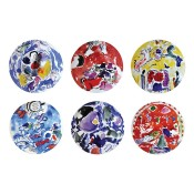 Set/6 Dessert/Salad Plates, 21.5cm - Assorted Designs