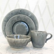 4 Piece Place Setting - Grey