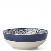Round Salad/Serving Bowl, 24.5cm - Indigo
