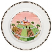 Bread & Butter/Side Plate #1 - Farmers Village, 17cm