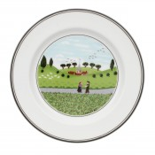 Bread & Butter/Side Plate #6 - Boy & Girl, 17cm