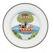 Dessert/Salad Plate #2 - Noah's Ark, 21cm