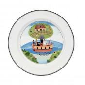 Dinner Plate #2 - Noah's Ark, 27cm