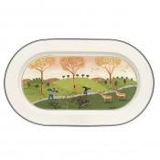 Oval Platter, 34 cm