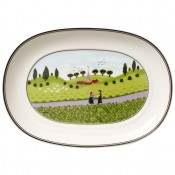 Oval Pickle Dish, 20cm
