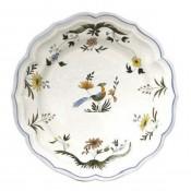 Round Flat Dish, 31 cm