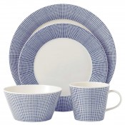 4 Piece Place Setting - Dots