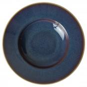 Pressed Mulberry - Rim Soup Bowl, 27cm