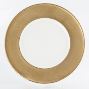 Charger/Service Plate, 30cm - Satin Gold