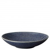 Ridged Coupe Pasta Bowl, 25.5cm, 1L - Cobalt - Medium