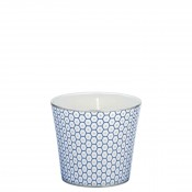 Blue - Scented Candle, 8cm - Design No.3