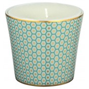Turquoise Candle Pot