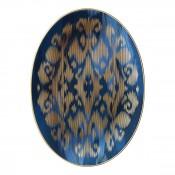 Small Sapphire Oval Platter, 35.5x26cm