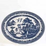 Oval Serving Platter, 34.5x27cm
