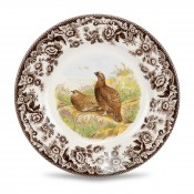 Dessert/Salad Plate, 20cm - Red Grouse