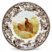 Dinner Plate, 26.5cm - Red Grouse