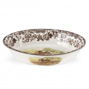 Oval Rim Serving Dish, 31.5x22cm
