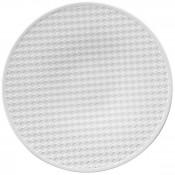 Round Platter, 34cm - Checkerboard