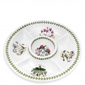 All-in-One Chip & Dip/Divided Serving Dish, 35cm