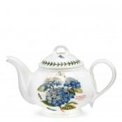 Teapot, 15cm, 1.1L - Romantic Shape - Hydrangea