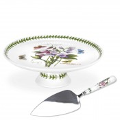 Cake Stand with Server, 25cm - Sweet Pea