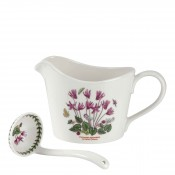 2-Piece Sauce/Gravy Jug & Mini Ladle - Ivy Leaved Cyclamen