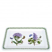 Rectangular Serving Tray, 39.5x25.5cm - Sweet William/Garden Lilac