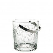 Ice Bucket with Stainless Steel Handle, 13.5cm