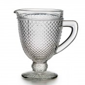 Water Pitcher, 20.5cm, 1L - Clear