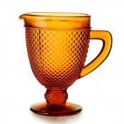 Water Pitcher, 20.5cm, 1L - Amber