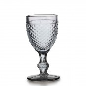 Water Goblet, 17cm, 280ml - Grey