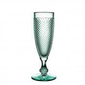 Champagne Flute, 19cm, 110ml - Mint Green