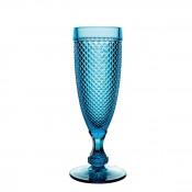 Champagne Flute, 19cm, 110ml - Azul Blue