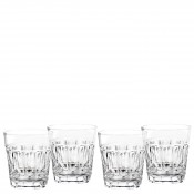 Set/4 Double Old Fashioned Glasses, 10cm, 325ml