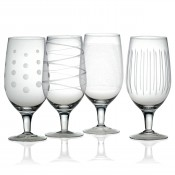 Set/4 Iced Beverage Glasses