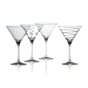 Set/4 Martini Glasses