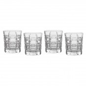 Set/4 Double Old Fashioned Glasses, 10cm, 295ml