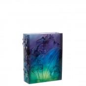 Orchid - Vase, 30cm - Dark Blue