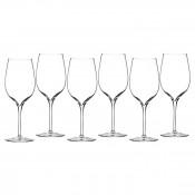 Set/6 Wine Tasting Party Glasses, 21.5cm, 445ml